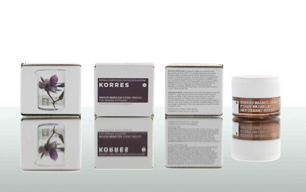 Korres Face, Magnolia Bark Frist Wrinkle Day Cream SPF 15