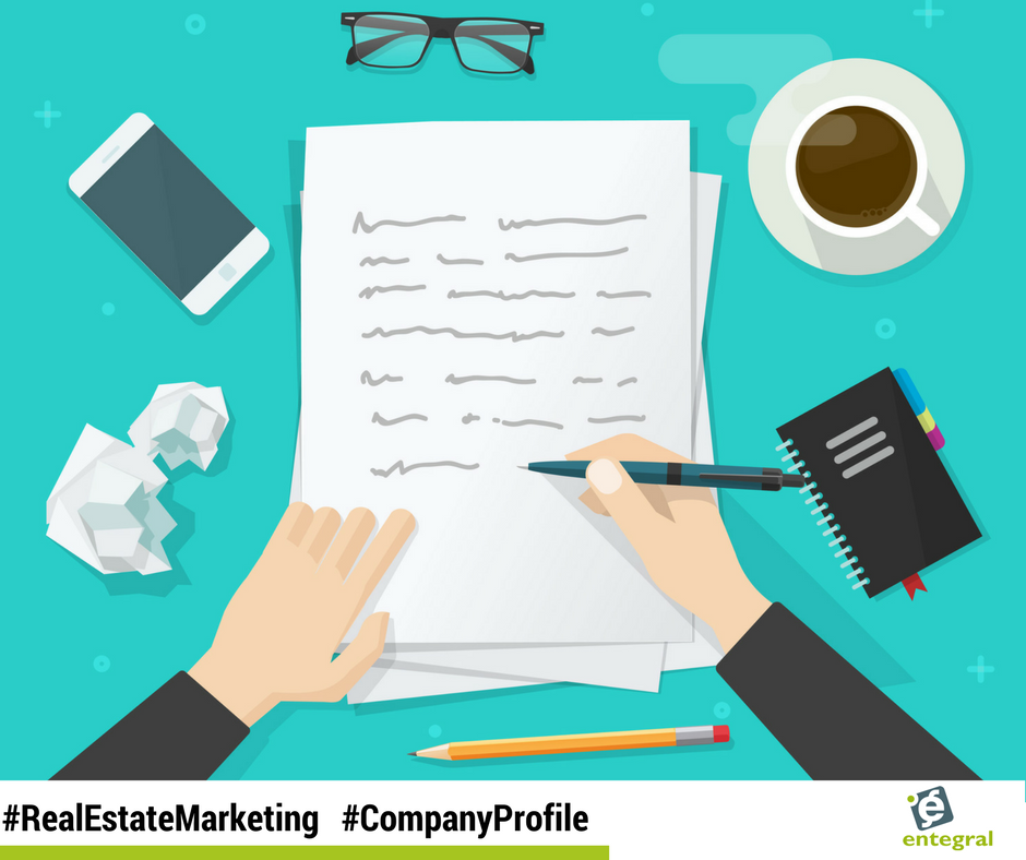 It is all about you - how to write a real estate company profile