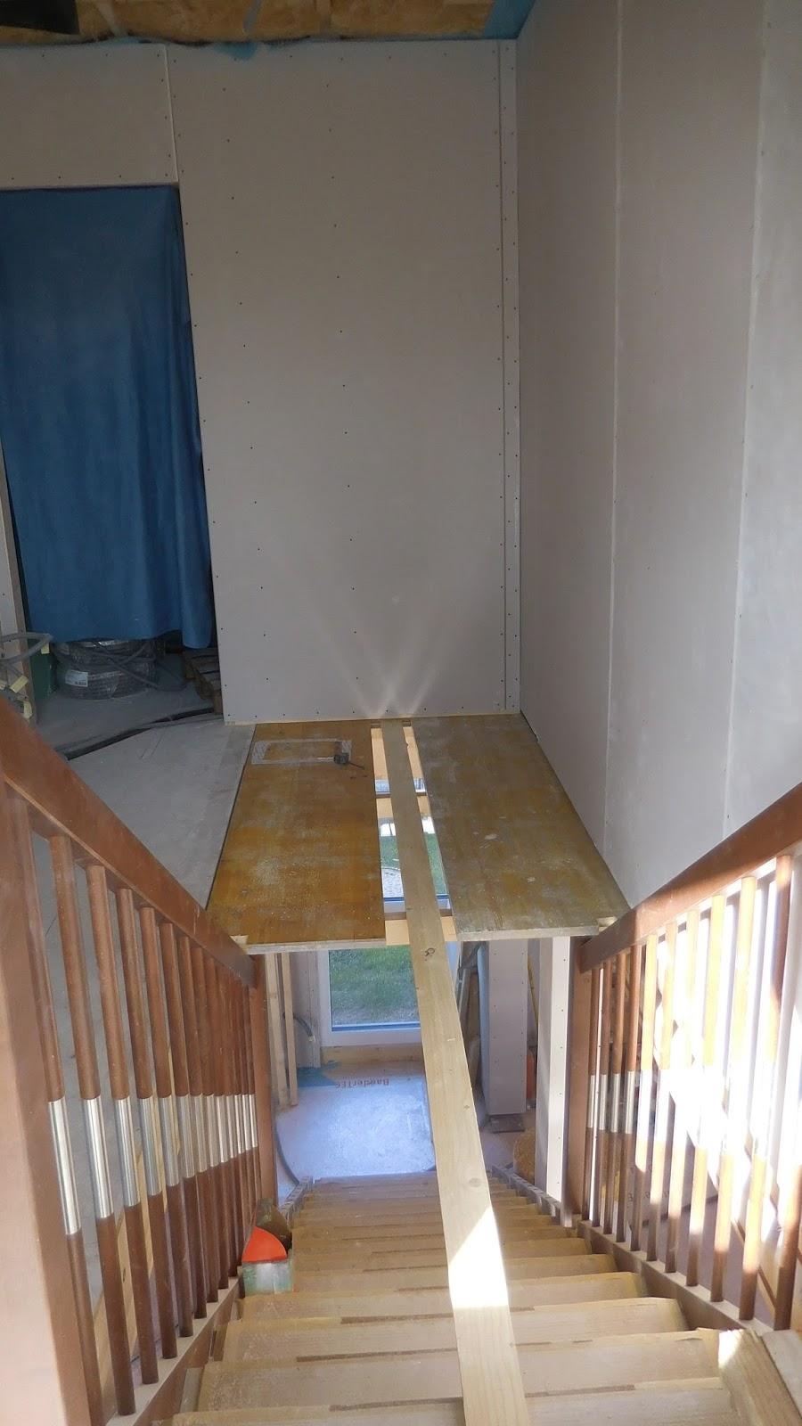 Schroli S Baublog Das Stiegenhaus Dachbodentreppe