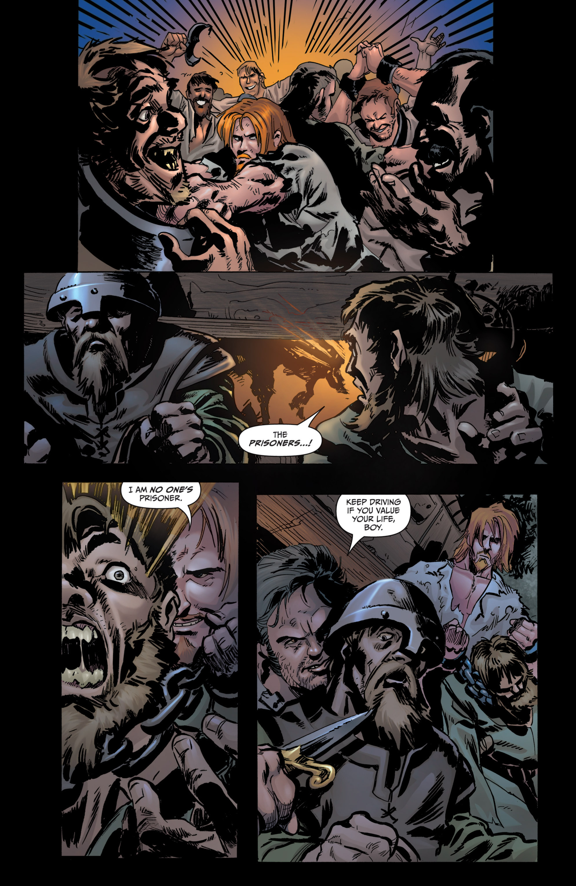 Read online Grimm Fairy Tales presents Grimm Universe comic -  Issue # TPB - 146