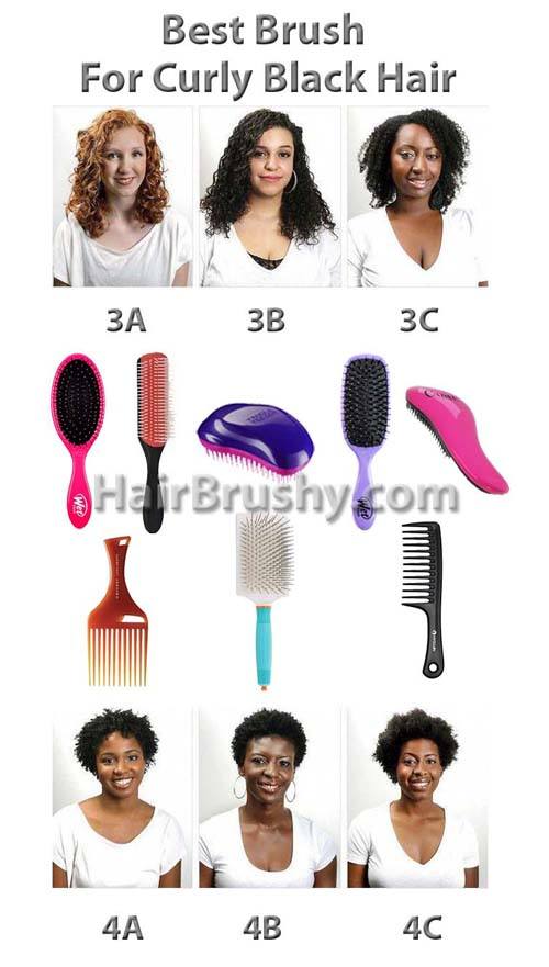 Best brush for curly black hair