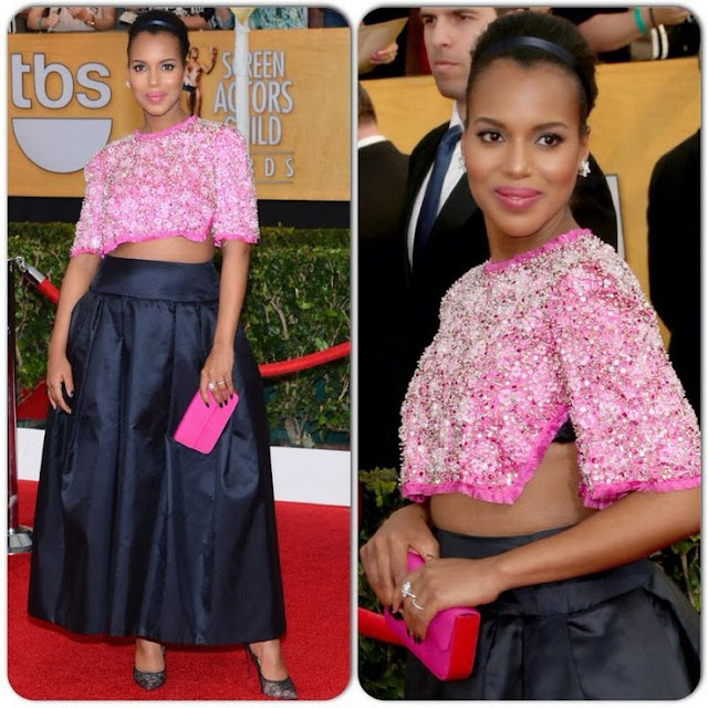 Kerry Washington in Prada – 2014 SAG Awards
