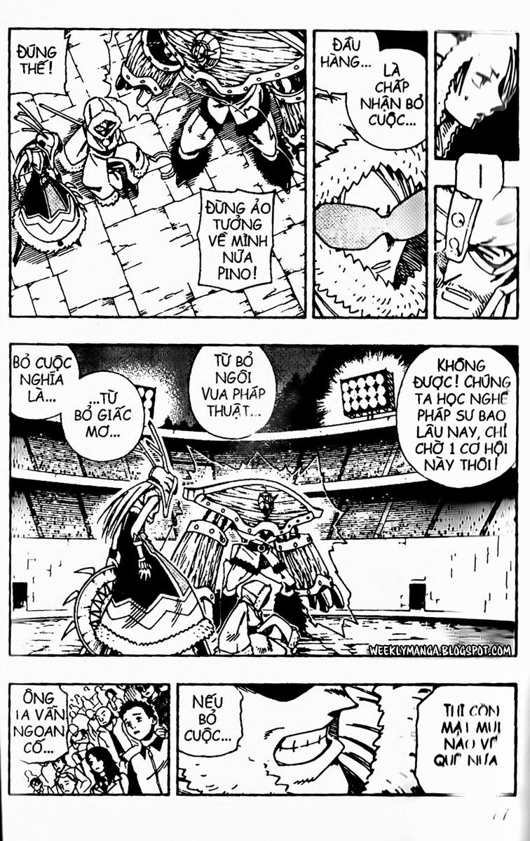 Shaman King [Vua pháp thuật] chap 133 trang 7