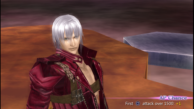 DLC Dissidia 012 [Dante From Devil May Cry] For Emulator