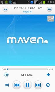 ứng dụng MAVEN Music Player Pro