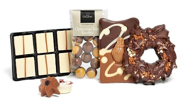 Hotel Chocolat Christmas hamper