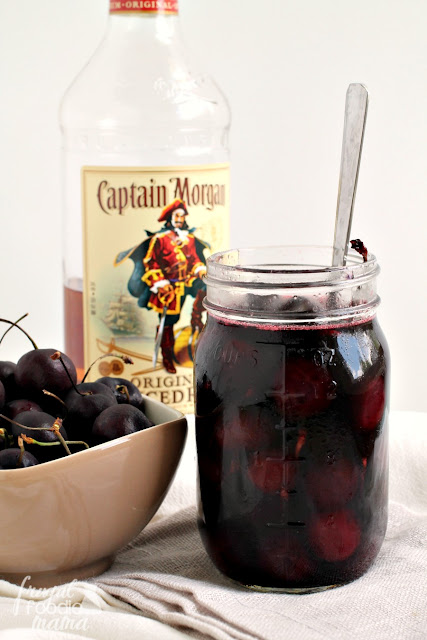Looking for a way to make those sweet, in-season cherries last just a little longer? Make these boozy Vanilla Spiced Rum Soaked Cherries!