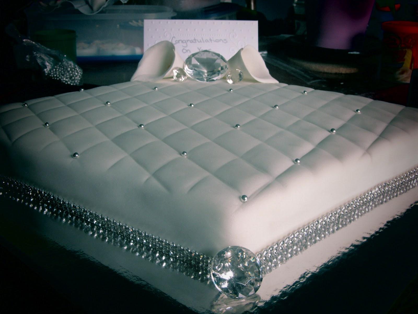 Diamond Anniversary Cake Decorations
