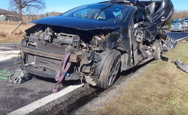 Halálos baleset történt a 82-es főúton Zircnél