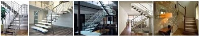3. Model tangga berbelok arah atau U