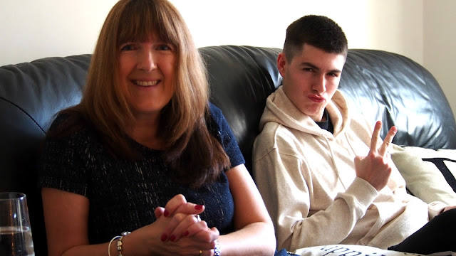 Mum and brother