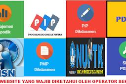 10 Website Yang Wajib Di Ketahui Operator Sekolah Saat Ini