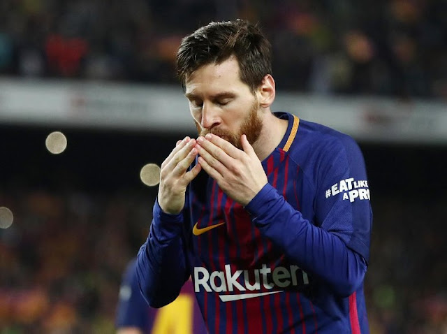 Lionel Messi Pecahkan Rekor Gol Legenda Madrid