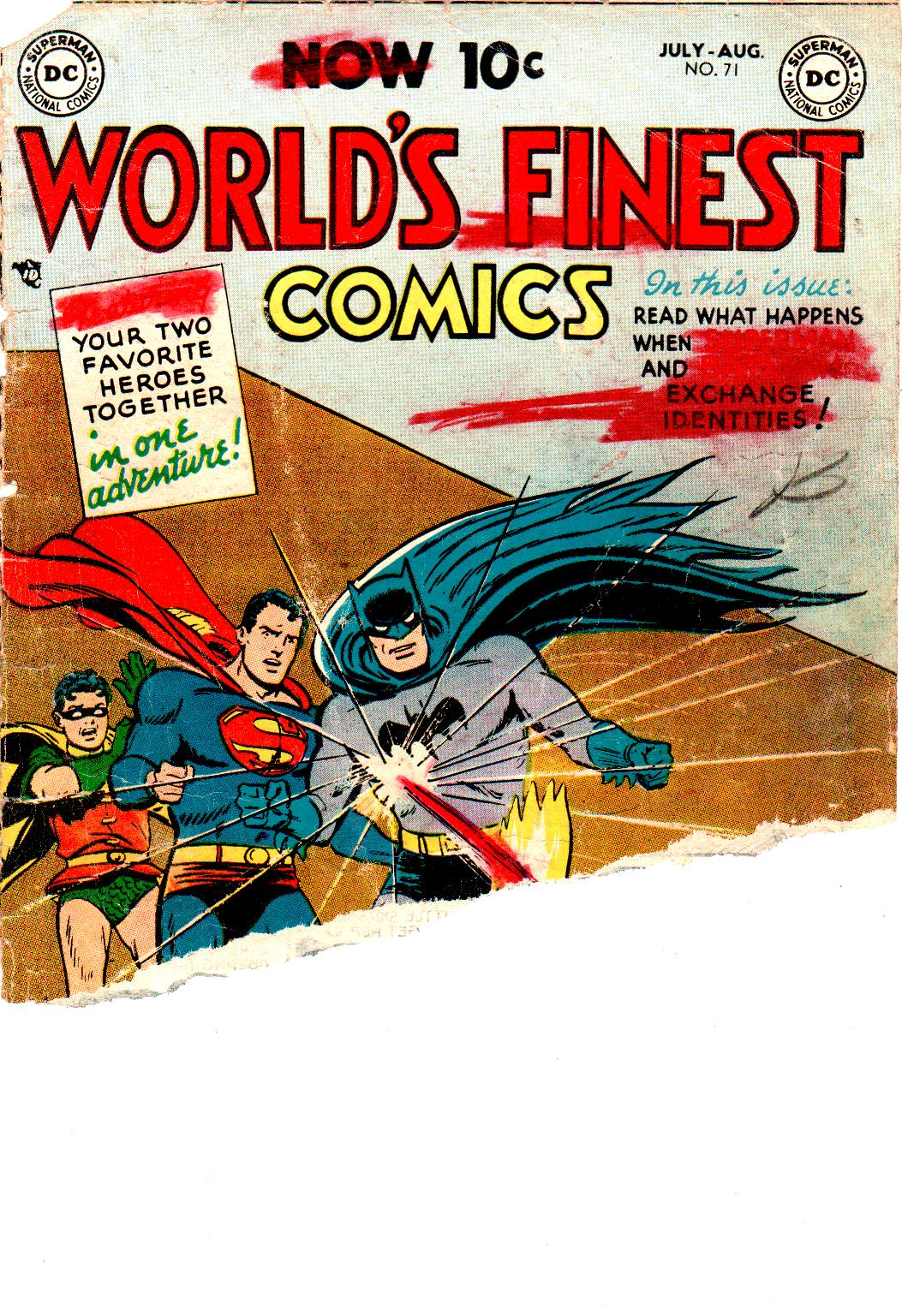 Read online World's Finest Comics comic -  Issue #71 - 1
