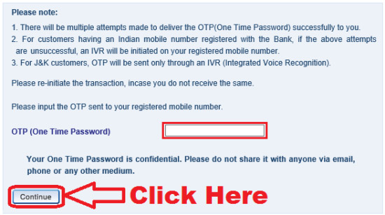 how to generate hdfc netbanking password online