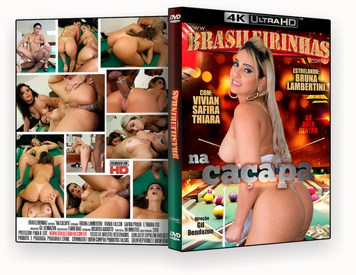 DVD – Brasileirinhas Na Caçapa  XXX – ISO