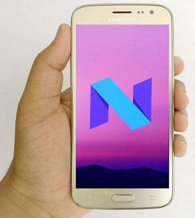 Samsung Galaxy J2 Android Nougat 7.0 Update and Install,Android Nougat 7.0,Nougat 7.0