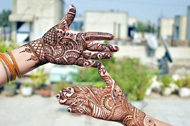 Simple mehndi design hd images