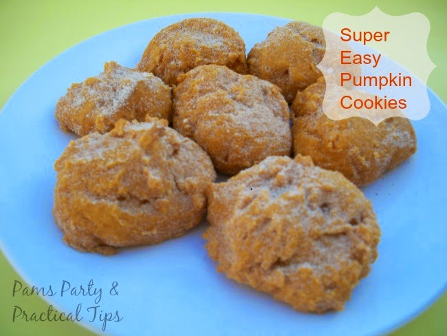 Super Easy Pumpkin Cookies Recipe