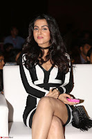 Ananya Soni in a Deep neck white blackl Dress at Shamanthakamani pre release function ~  Exclusive 084.JPG