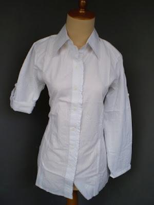 model kemeja kerja putih polos wanita terbaru tokopedia