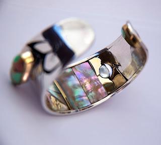 Inlegwerk overlay armband unieke trouwringen