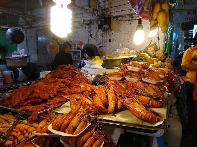 makanan thai, makanan best, night market hatyai
