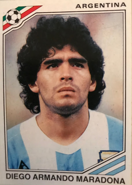 Maradona, Album Messico '86