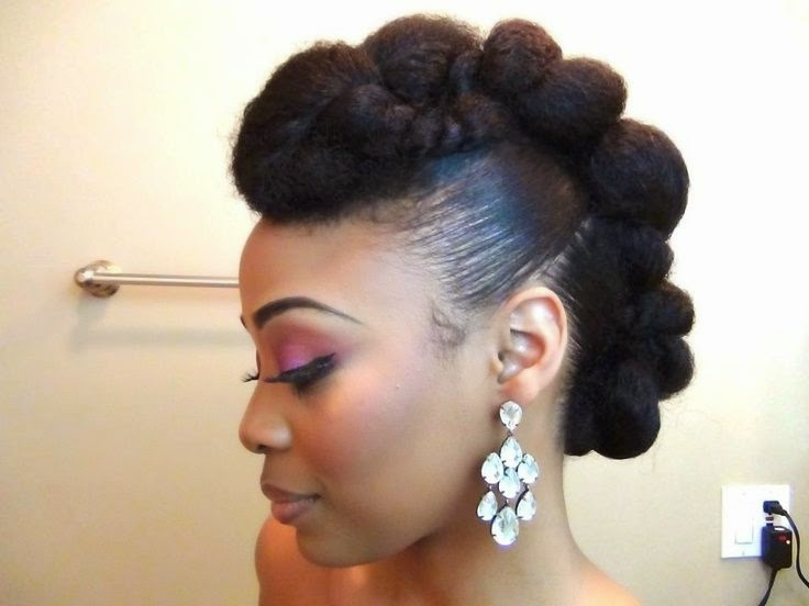 Super Exotic Mohawk Hairstyles For Black Hairstyles For Men Maxibearus