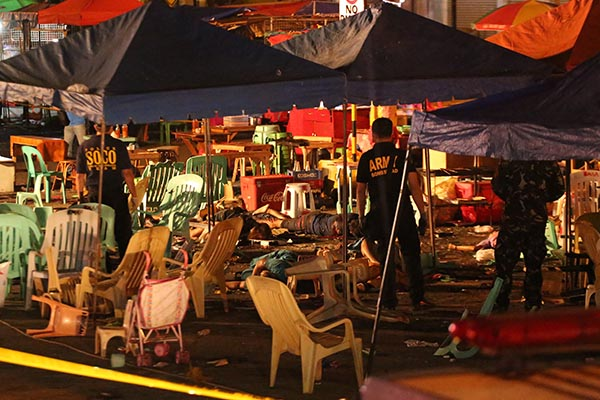 Davao City explosion, a night of terror