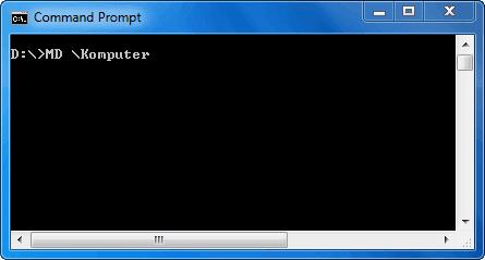 Membuat Direktori (Folder) Komputer