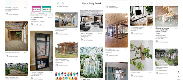 Using Pinterest for branding: interior examples