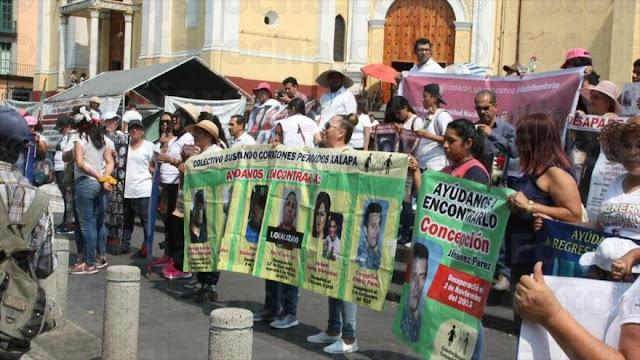 Miles de mujeres mexicanas exigen justicia para los desaparecidos