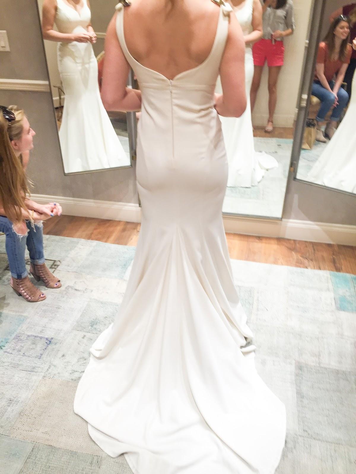 BHLDN Wedding Dress Shopping Appointment