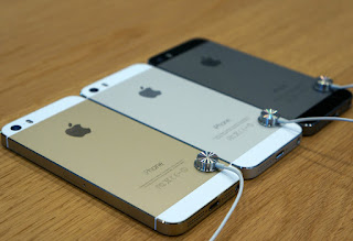 iPhone 5S BlackMarket silver, black dan gold