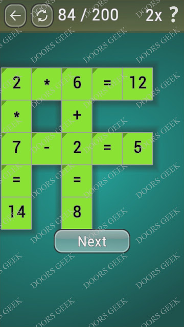 Math Games [Beginner] Level 84 answers, cheats, solution, walkthrough for android
