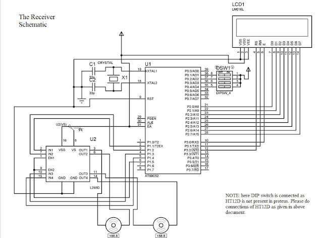 wireless data circuit with at89s52