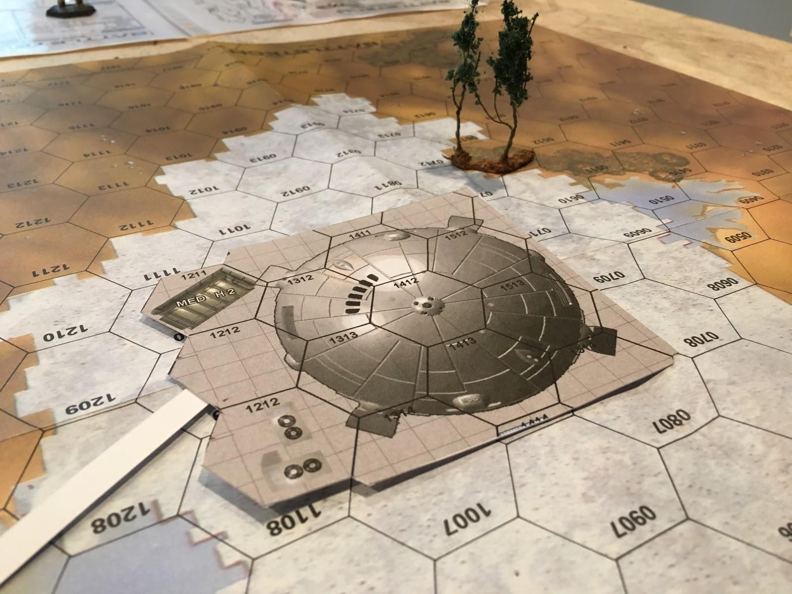 1000 Foot General: Battletech Campaign #1: Surprise!