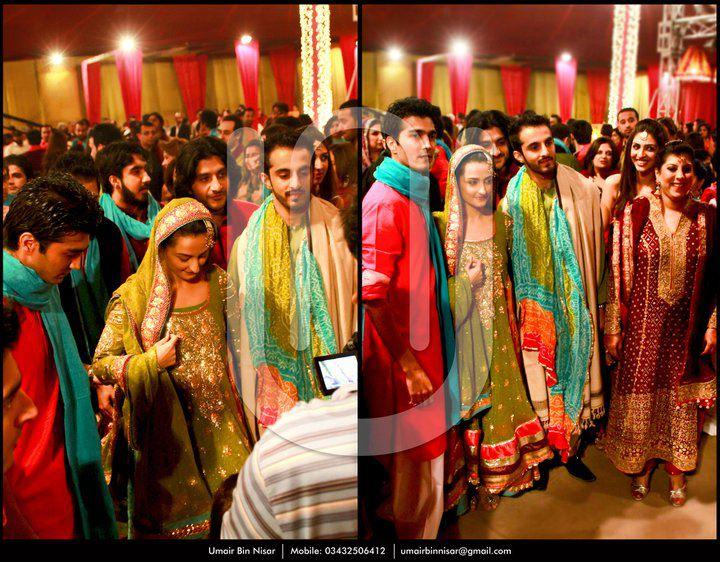 Javed Sheikhs Daughter Momal Sheikh Wedding Picture