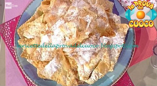 Frappe ricetta Moroni da Prova del Cuoco