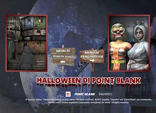 Event Halloween PB Garena Rumah Hantu dan Pengabdi Apa Kamu Dapatkan Redeem Hadiah Item dan Senjata Gratis