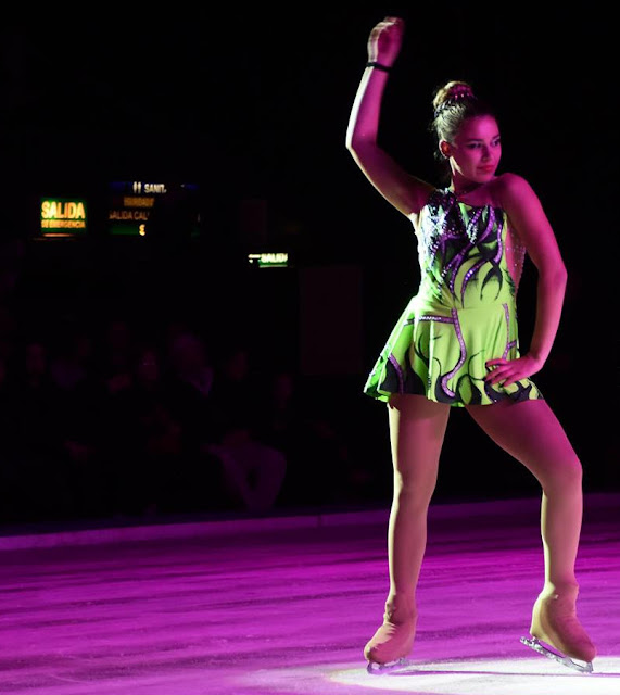 """El Luna se viste de blanco para dar lugar a la """"Gala de Campeones - Argentina patina sobre Hielo"""""""