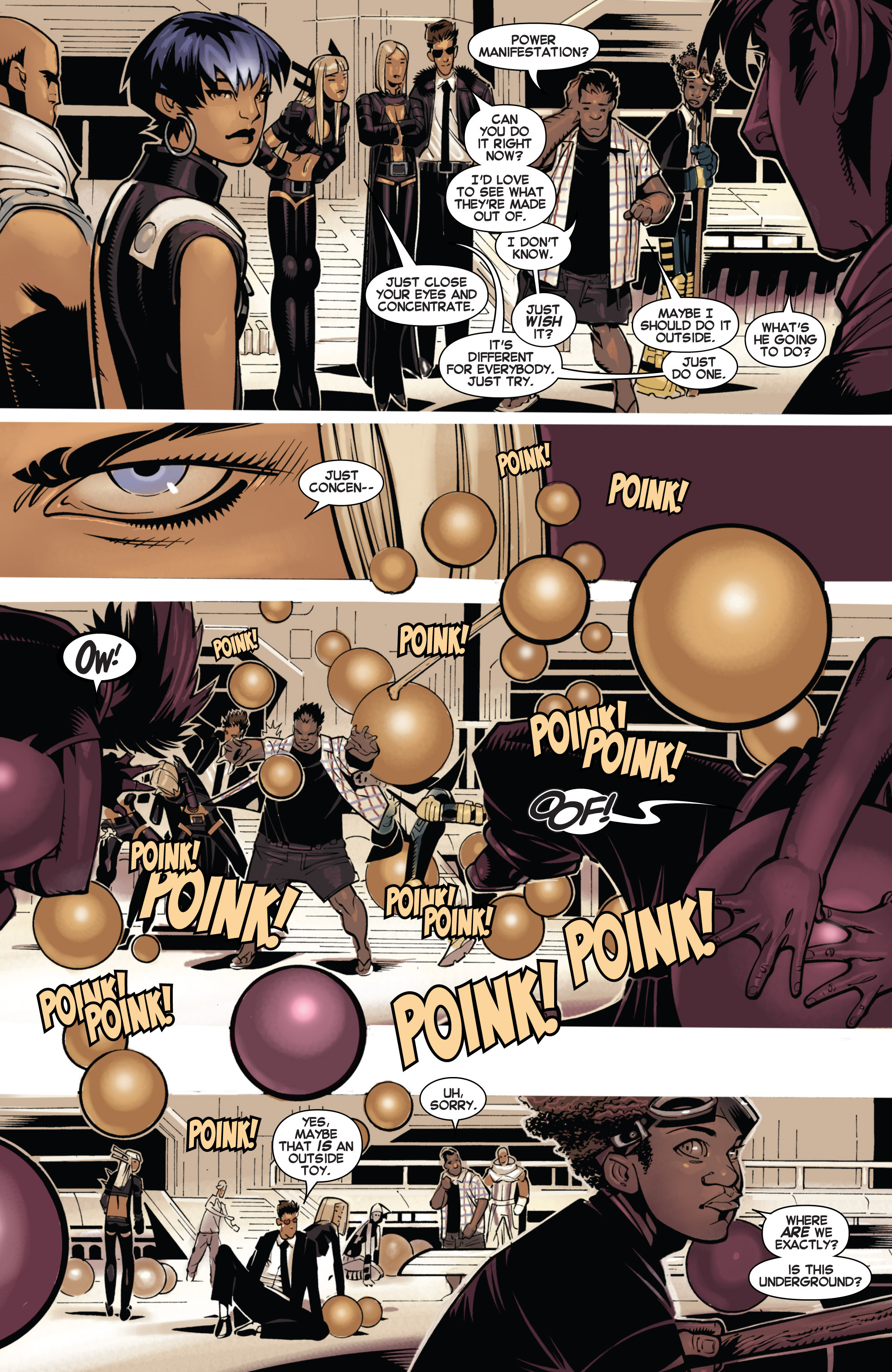 Read online Uncanny X-Men (2013) comic -  Issue # _TPB 1 - Revolution - 36