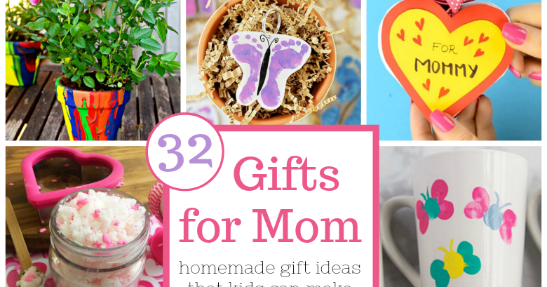 Gifts For Mom From Kids Homemade Gift Ideas That Kids Can Make Messy Little Monster