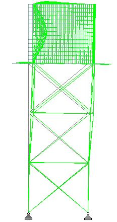 Analysis of Elevated Steel Tank Using Staad Pro - Structville