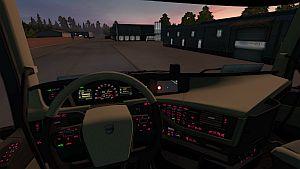 Pink Dashboard Lights for Volvo 2012