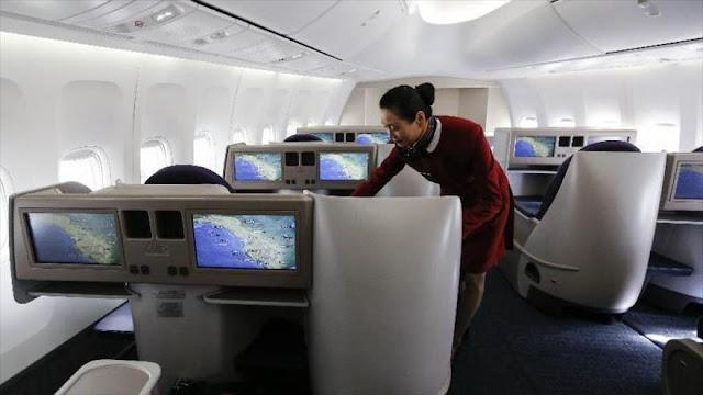 """Reino Unido se indigna con mensaje """"racista"""" de aerolínea china"""