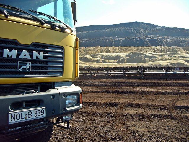 kopalnia, węgiel, urobek, maszyny