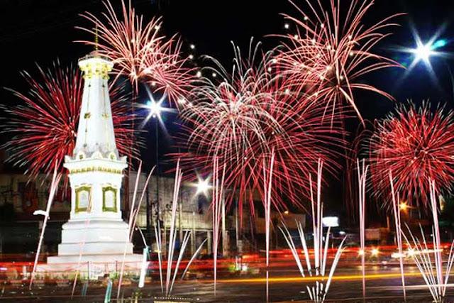Tahun Baru di Jogja