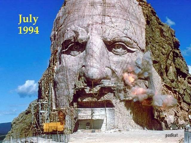 Crazy Horse Monument — Ruth Ziolkowski